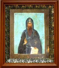 Тихон Луховской (19х22), светлый киот