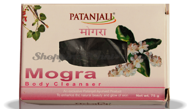 Мыло для лица и тела Могра Патанджали | Divya Patanjali Ojas Mogra Soap
