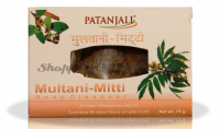 Мыло для лица и тела Лечебная глина Патанджали Аюрведа | Divya Patanjali Ojas Multani Mitti Soap