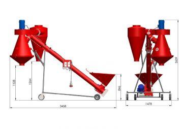 Зерновой сепаратор М-502