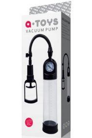 Вакуумная помпа мужская Toyfa A-toys Vacuum Pump черная