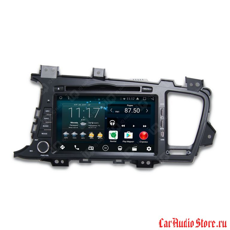 IQ NAVI D58-1707 KIA OPTIMA (TF) (2010-2013) ANDROID 6.0.1 QUAD-CORE (8 ЯДЕР) 8""