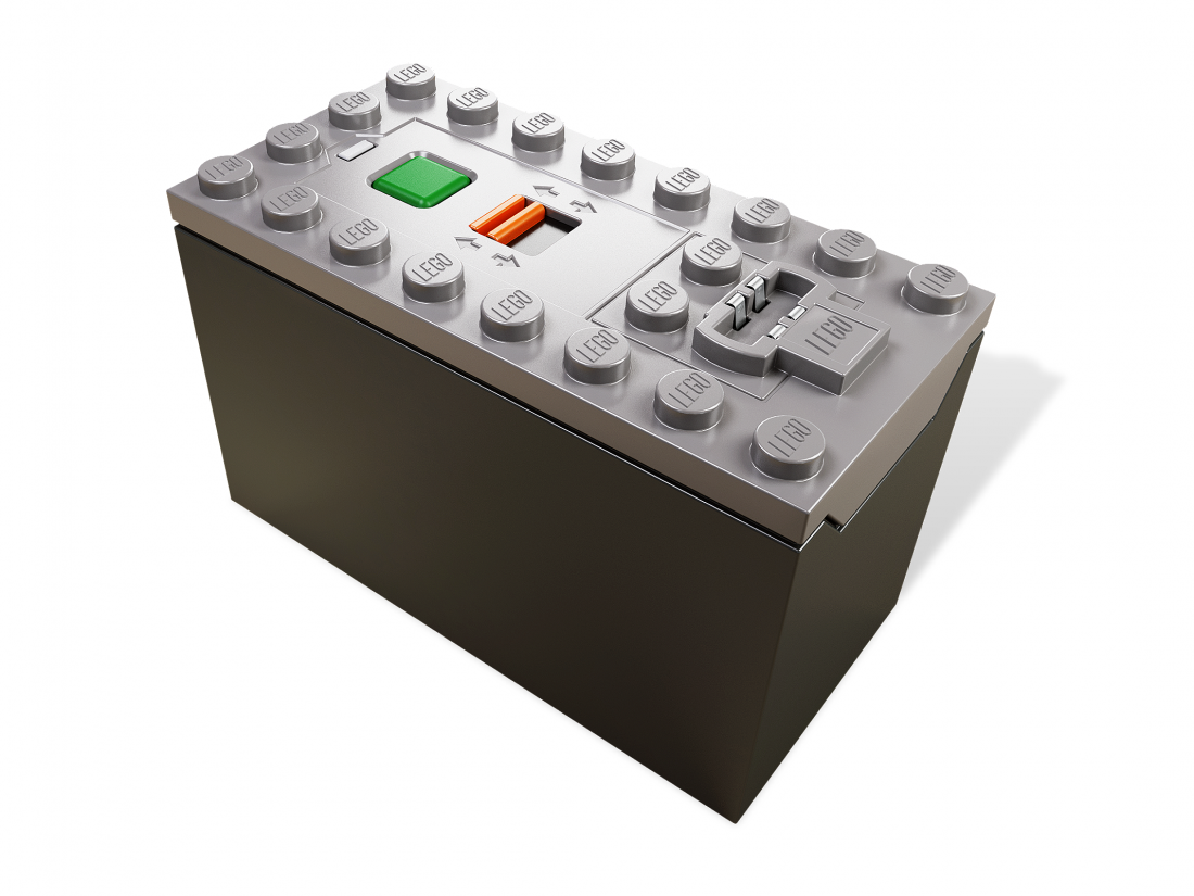 Батарейный отсек AAA. Конструктор ЛЕГО 88000 Power Functions