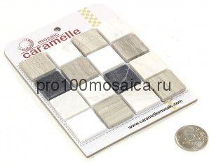 PIETRA MIX 4 MAT 23 x 23 Мозаика серия Pietrine Stone, размер, мм: 298*298*4 (Caramelle)