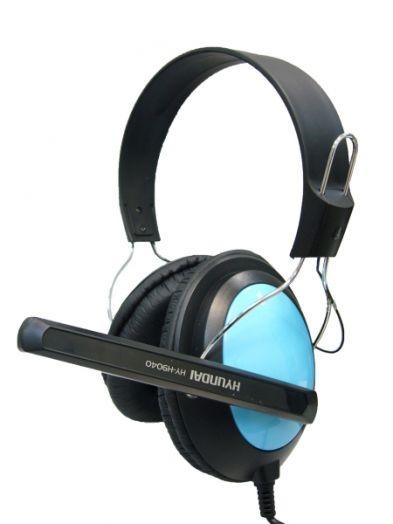 Мониторные наушники с микрофоном HYUNDAI HY-H9040