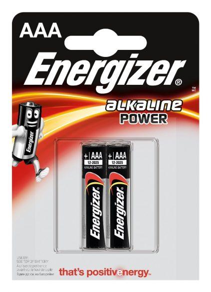Батарейка AAA Energizer Alkaline Power 2 шт