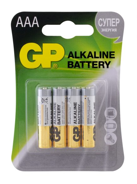 Батарейка АAА GP Alkaline LR03 4 шт