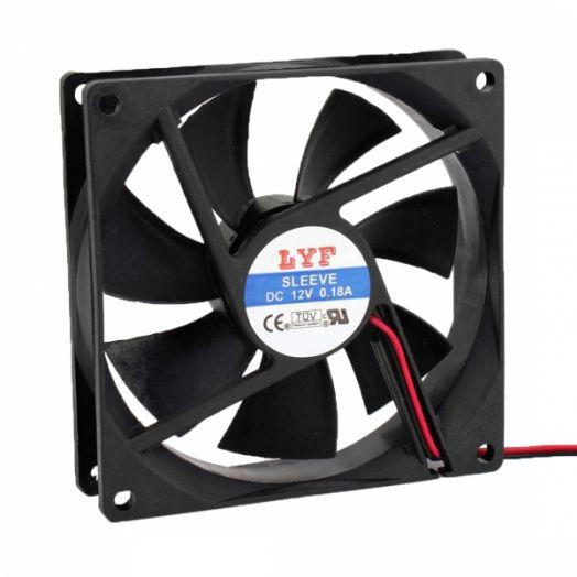 Вентилятор 92х92х25 12V