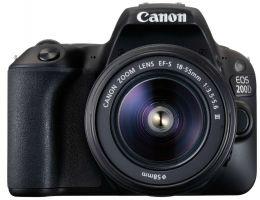 Canon EOS 200D Kit EF-S 18-55 III Black