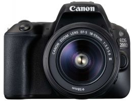 Canon EOS 200D Kit EF-S 18-55 MM IS
