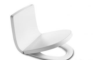 Сиденье для унитаза Roca Khroma 7801652F6T белый органик