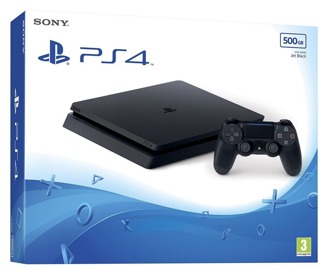 Sony PlayStation 4 Slim 500 ГБ + игра GTA V
