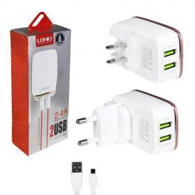 Зарядное устройство (2USB) 2,4A
