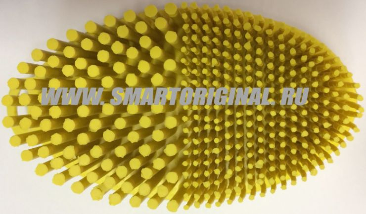 Smart Microfiber Щётка Спа-мини жёлтая