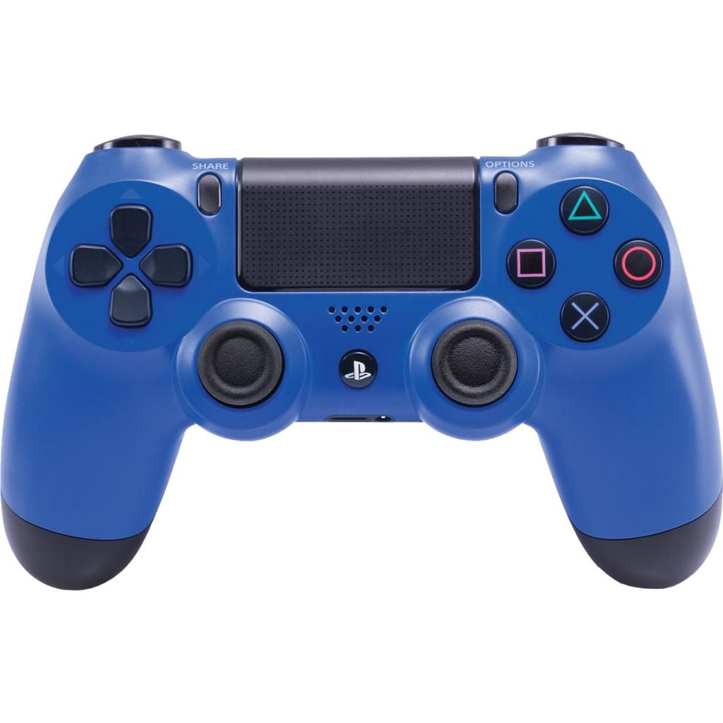 Sony Dualshock 4 Wave Blue Геймпад для Ps4 синий