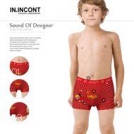Трусы боксеры для мальчика 7-15 лет  INCONT  №INC2610