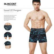 Мужские трусы боксеры  IN.INCONT  №INC3595