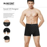 Мужские трусы боксеры  IN.INCONT  №INC3580