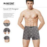 Мужские трусы боксеры  IN.INCONT  №INC3571