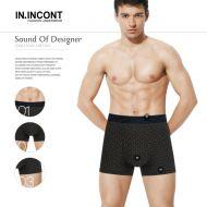 Мужские трусы боксеры  IN.INCONT  №INC3567