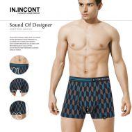 Мужские трусы боксеры  IN.INCONT  №INC3561