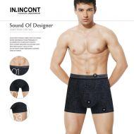 Мужские трусы боксеры  IN.INCONT  №INC3563