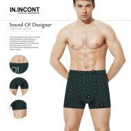 Мужские трусы боксеры  IN.INCONT  №INC3555
