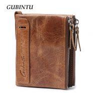 Кожаный мужской кошелёк Gubintu