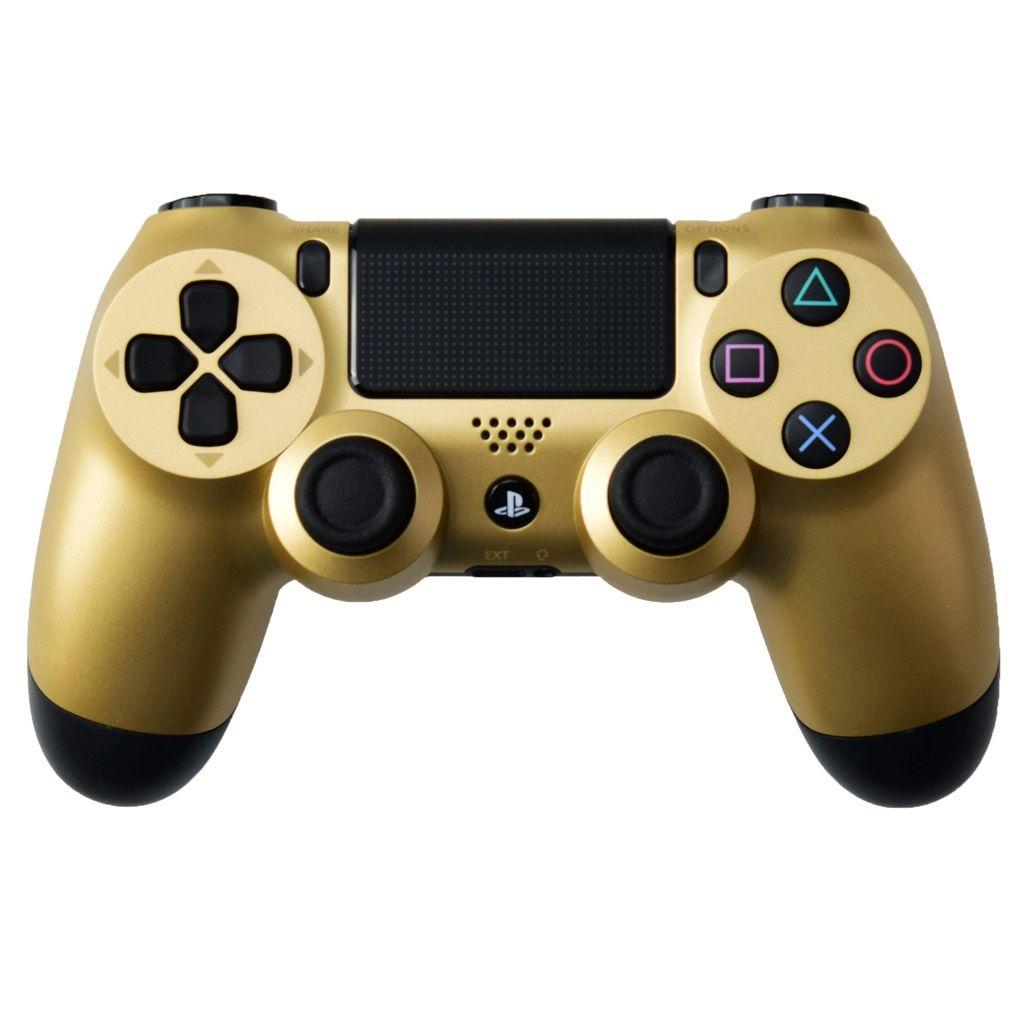 Sony Dualshock 4 v2 Color Gold Геймпад золотой для Ps4