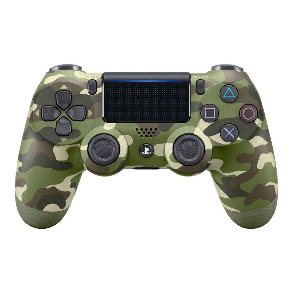 Sony Dualshock 4 V2 Camouflage Green зеленый камуфляж Геймпад для Ps4