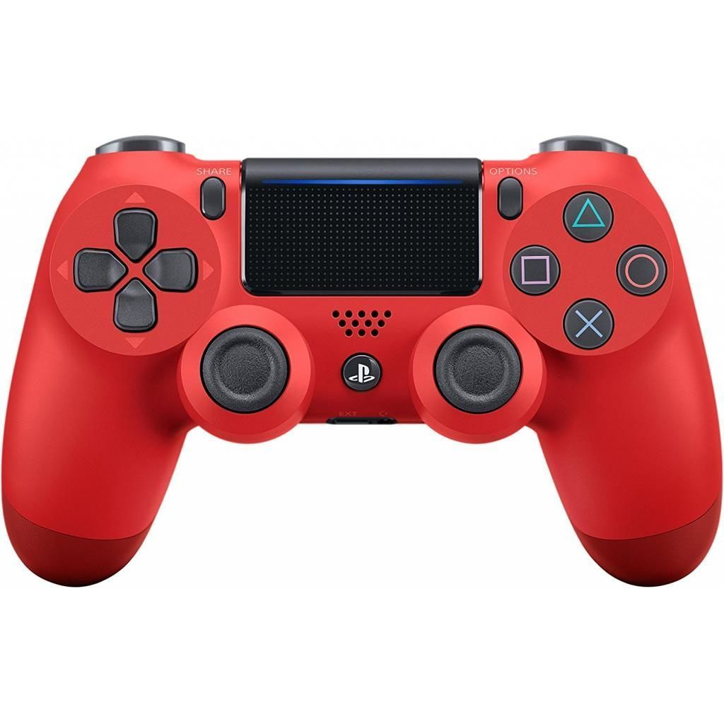 Sony Dualshock 4 v2 Color Magma Red Геймпад для Ps4 красный