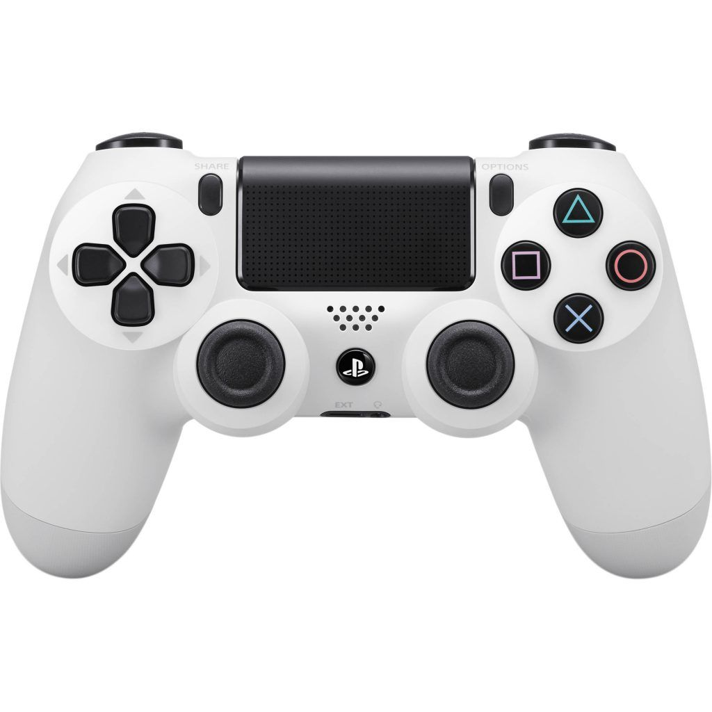 Sony Dualshock 4 v2 Color White Геймпад для Ps4 белый