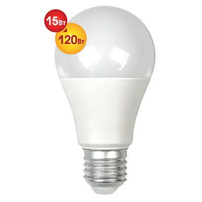 Лампочка светодиодная Dialog A60-E27-15w-3000k
