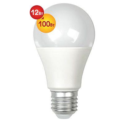 Лампочка светодиодная Dialog A60-E27-12w-3000k