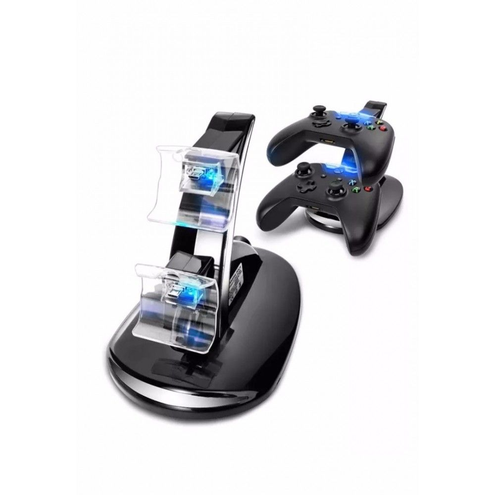 Зарядная станция PS4 DUAL CHARGING DOCK IV-P4002 OIVO