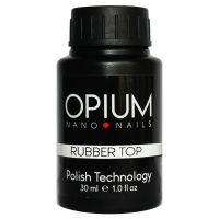 Каучуковый топ для гель-лака OPIUM Rubber Top 30 мл