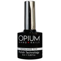 Финишное покрытие No-Wipe OPIUM Top без липкого слоя, 8 мл