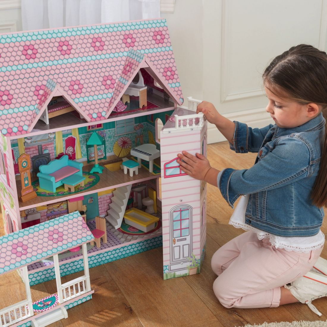 "Кукольный домик ""Abbey Manor"" Kidkraft 65941"