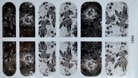 """Наклейка на клеевой основе """"Цветы"""" №1024"""