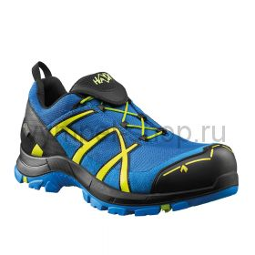 Кроссовки Haix Safety 40 low blue-citrus