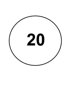 20 размер