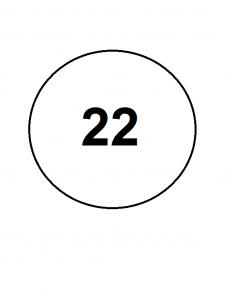 22 - 22,5 размеры