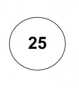 25 размер