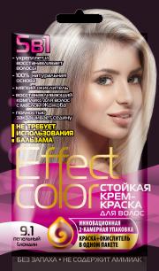 """""""fk"""" Cтойкая крем-краска для волос серии «Effect Сolor» 50мл, тон пепельный блондин"""