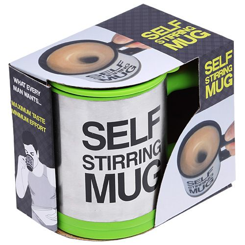 Кружка - миксер Self Stirring Mug Зелёная