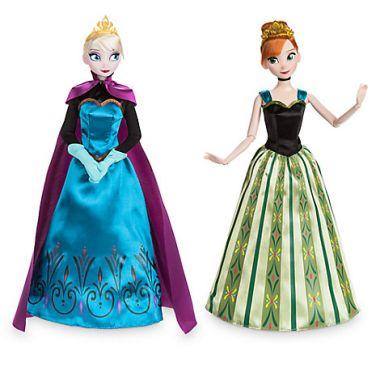 Набор кукол Анна и Эльза коронация Дисней