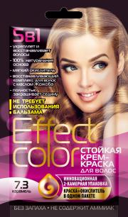 """""""fk"""" Cтойкая крем-краска для волос серии «Effect Сolor» 50мл, тон карамель"""