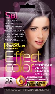 """""""fk"""" Cтойкая крем-краска для волос серии «Effect Сolor» 50мл, тон баклажан"""