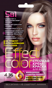 """""""fk"""" Cтойкая крем-краска для волос серии «Effect Сolor» 50мл, тон мокко"""