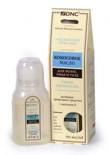 """""""DNC"""" Кокосовое масло для волос, лица и тела, DNC, 60 мл"""